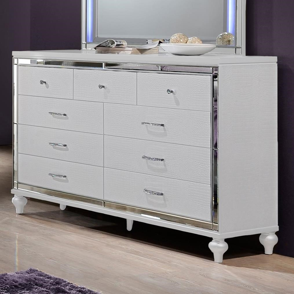 Valentino Dresser by New Classic at Beck's Furniture
