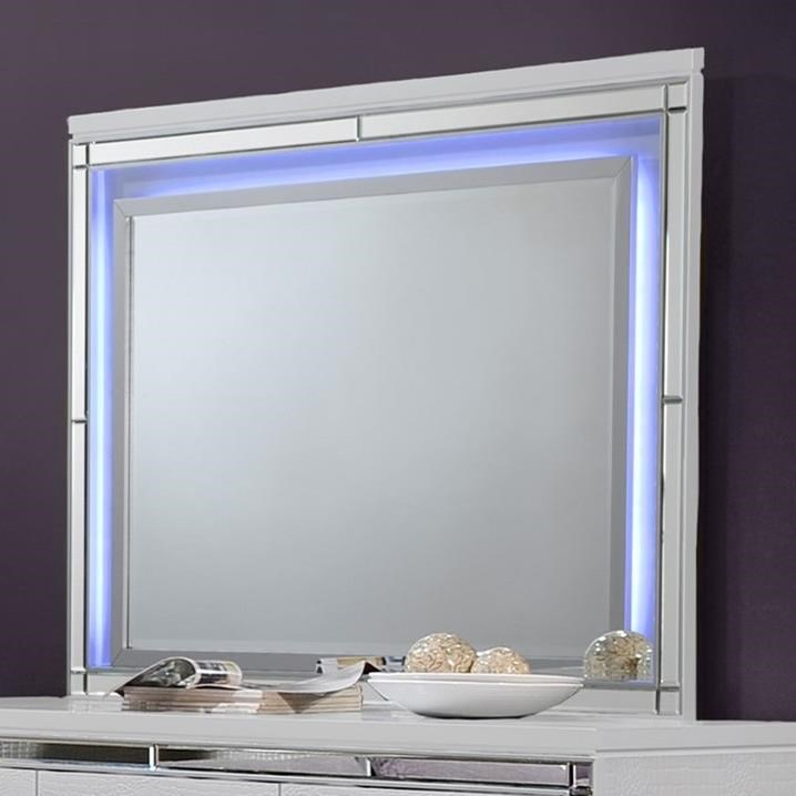 Valentino Dresser Mirror by New Classic at Beck's Furniture