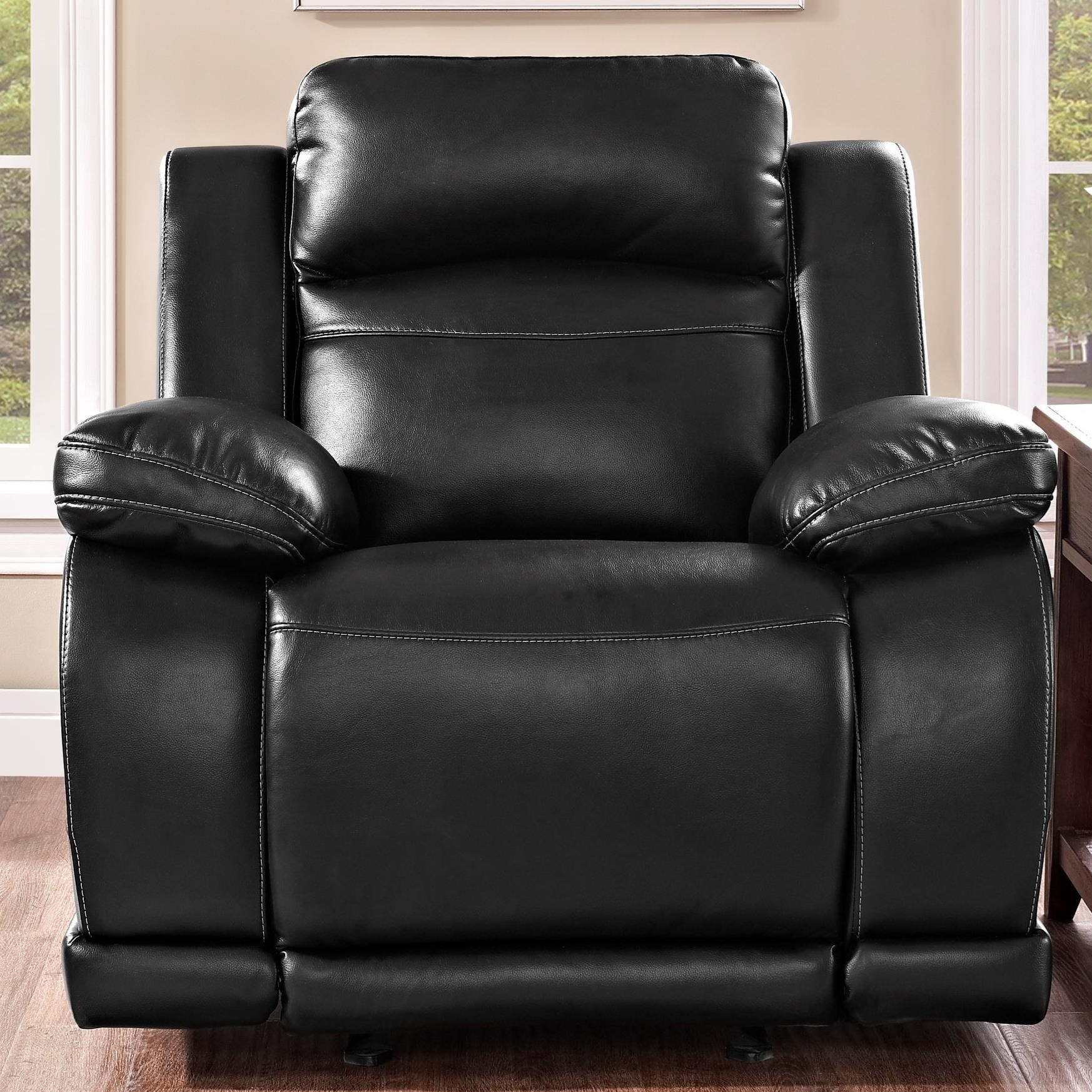 Vega Glider Recliner by New Classic at Arwood's Furniture