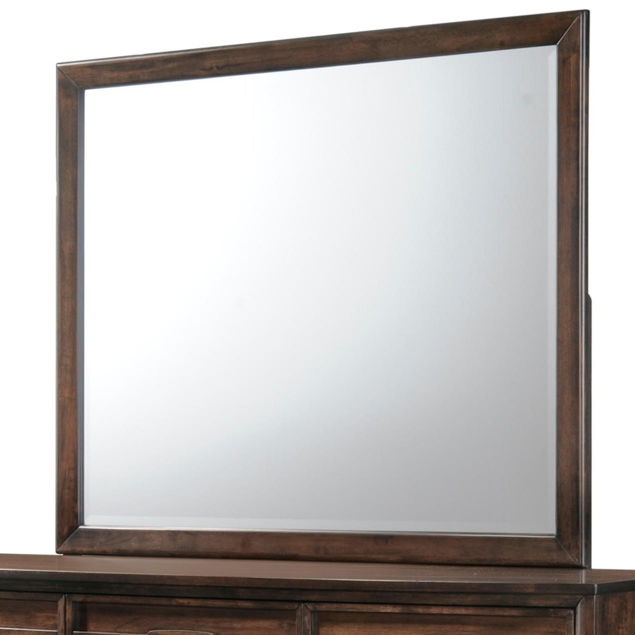 Windsong Dresser Mirror by New Classic Furniture at Del Sol Furniture