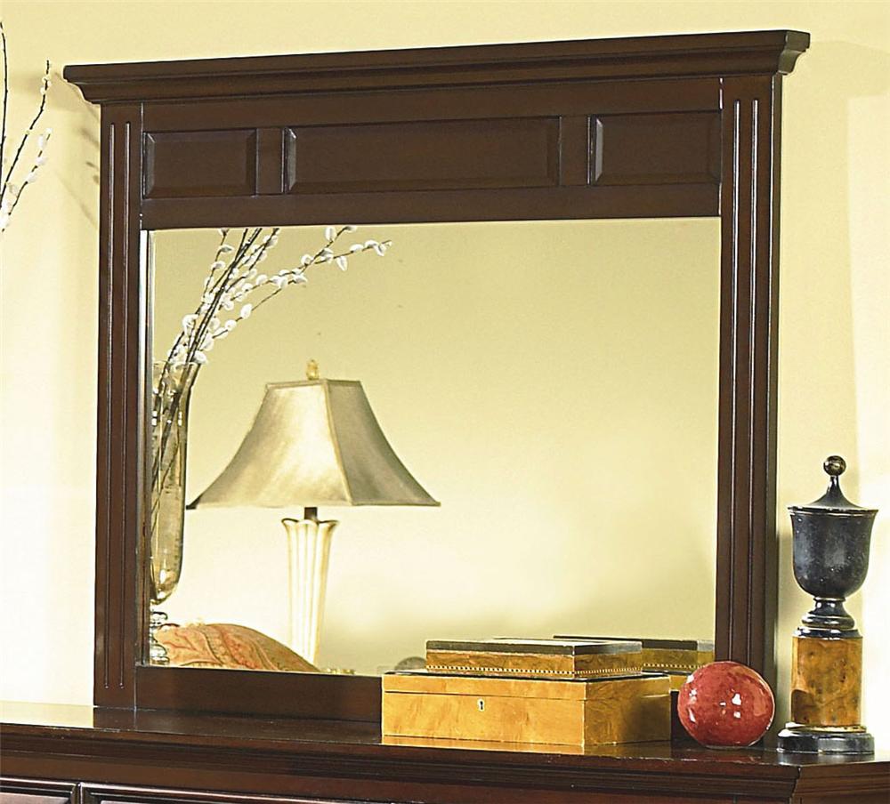 Drayton Hall Mirror at Lapeer Furniture & Mattress Center