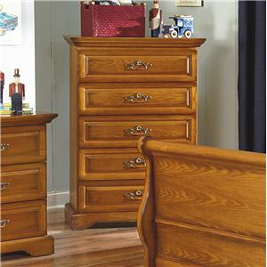 (5) Drawer Lift Top Chest