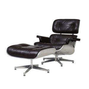Grayson Lounge Chair and Ottoman, Java