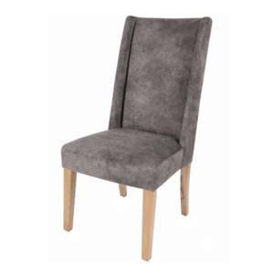 Lucas KD Fabric Chair Natural Wood Legs,