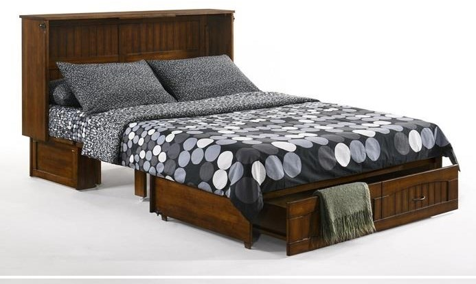 Alpine Queen Size Cabinet Bed by IQ at Walker's Furniture