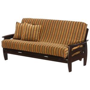 Dark Chocolate Chair Size Futon