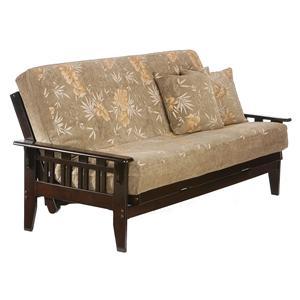 Night & Day Furniture Kingston Dark Chocolate Full Size Futon