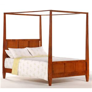 Night & Day Furniture Spice King Canopy Bed