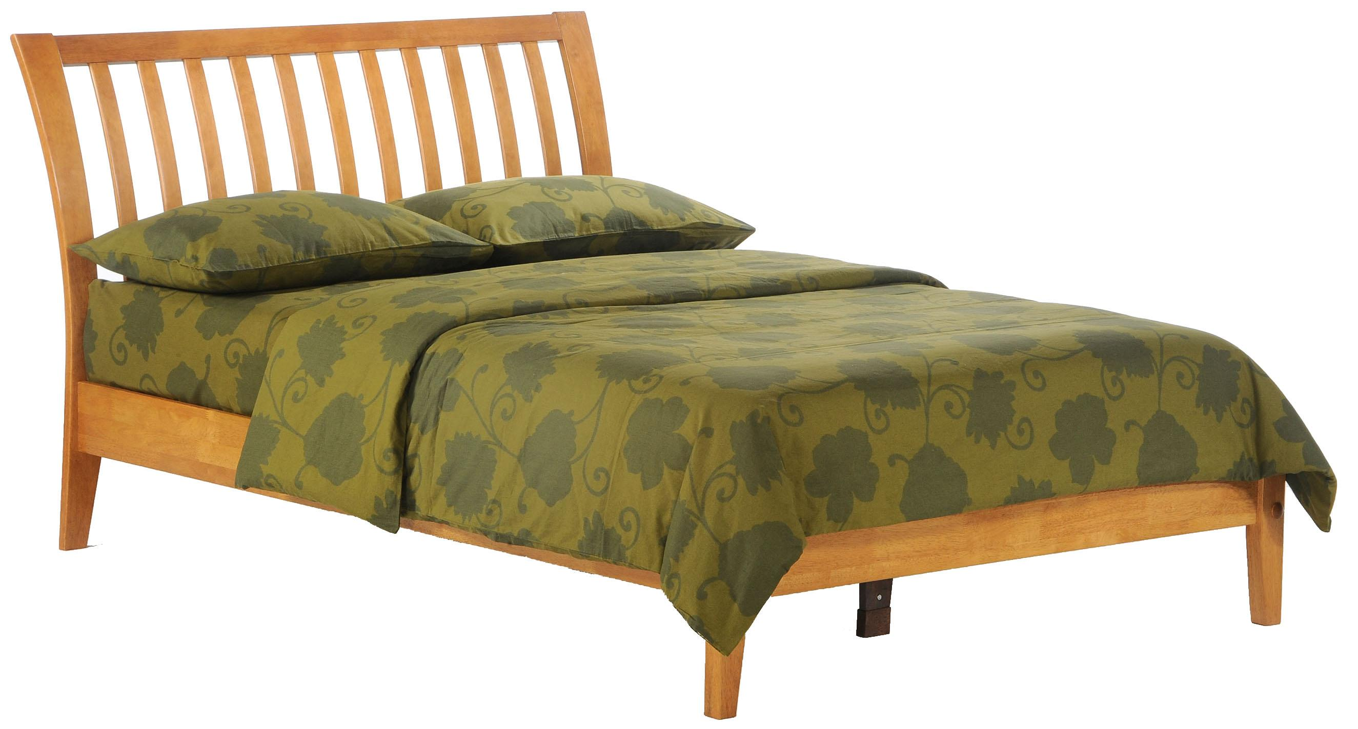 Spice King Bed by Night & Day Furniture at Godby Home Furnishings