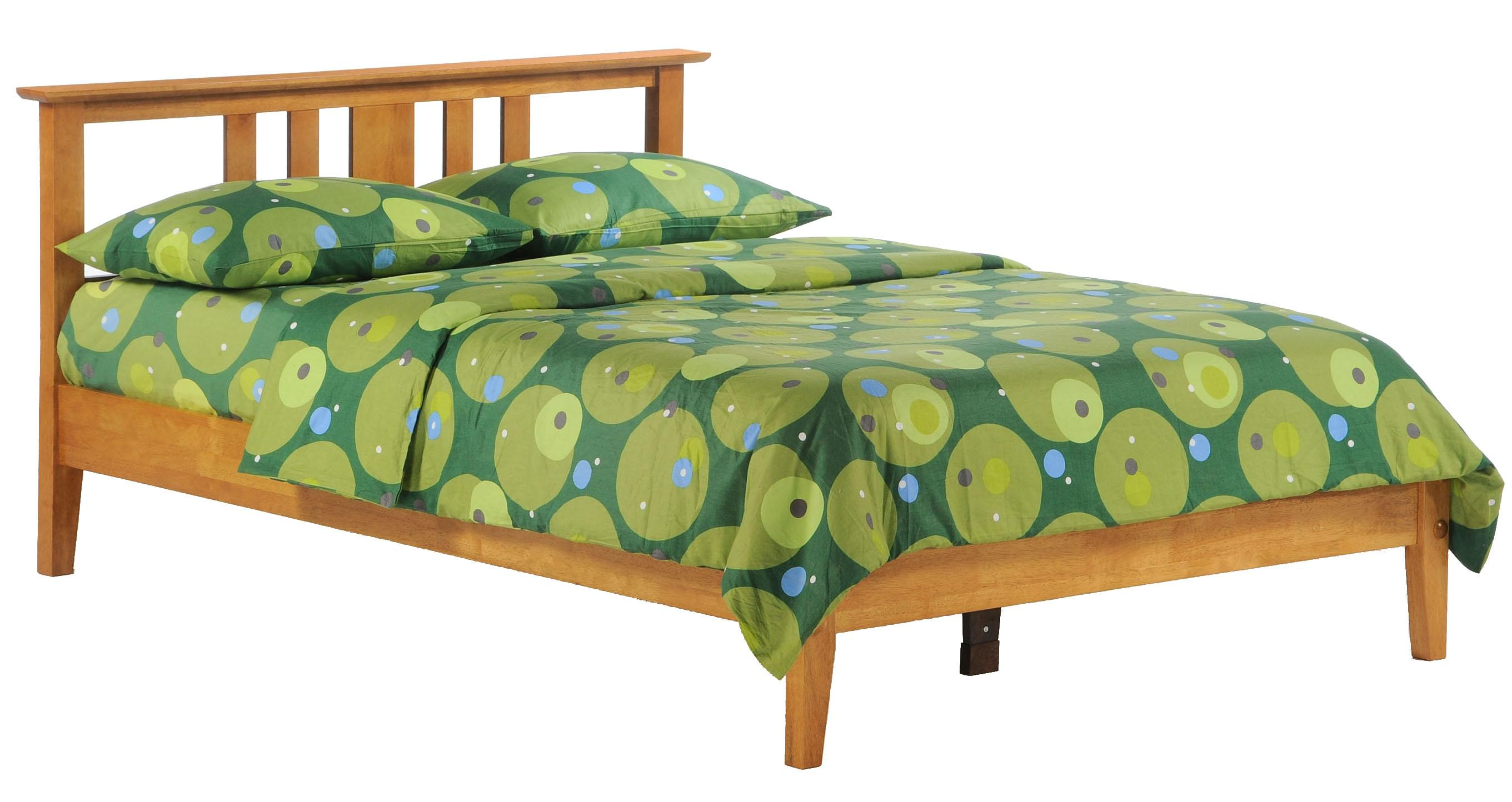 Spice California King Bed by Night & Day Furniture at Godby Home Furnishings