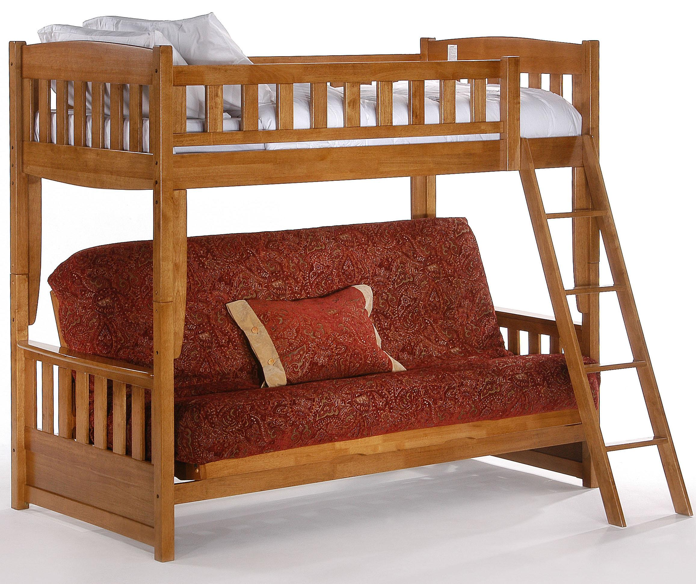 Spice Futon Bunk by Night & Day Furniture at Furniture and ApplianceMart