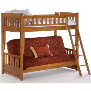Night & Day Furniture Spice Futon Bunk