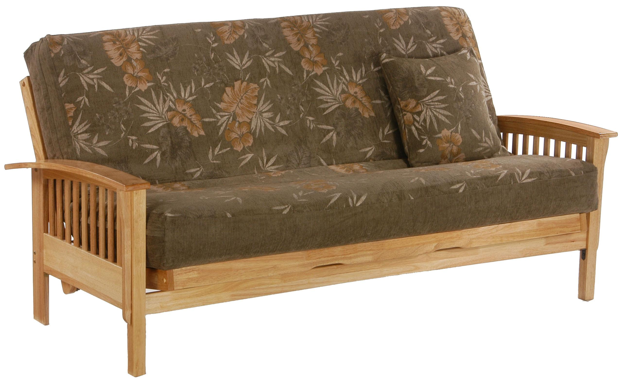 Winchester Natural Chair Size Futon by Night & Day Furniture at Furniture and ApplianceMart