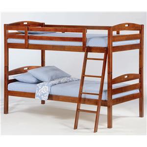 Sesame Twin/Twin Bunk Bed