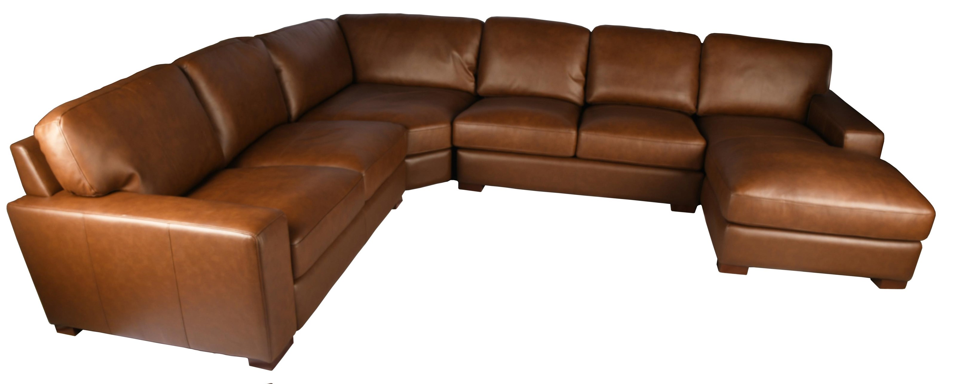 7322 Leather Sectional at Bennett's Furniture and Mattresses