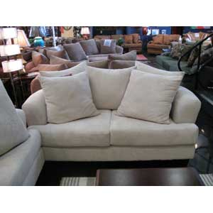 Noahs Manufacturing 1953  Pillow Back Love Seat