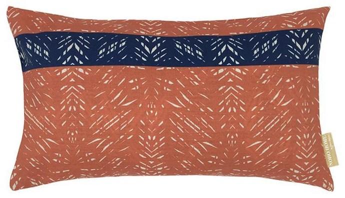 Batik Lumbar Pillowcase by Noho Home at HomeWorld Furniture