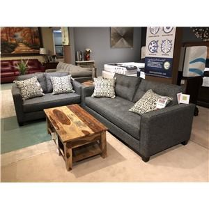 Grey Sofa and Loveseat Set by West Coast Home (Clackamas Store Only)