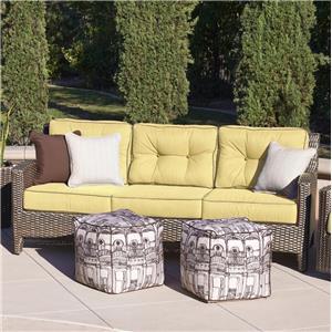 NorthCape International Elegance Three Seater Sofa