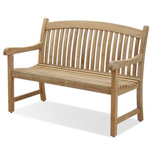 NorthCape International Teak Two Seater Dining Bench