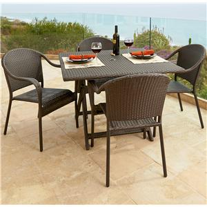"NorthCape International Villa 36"" Bistro Set"