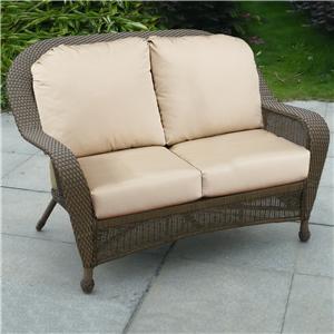 NorthCape International Winward Loveseat w/ Cushion