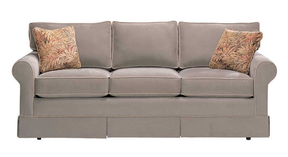 Copley Square Loose Back Sofa by Norwalk at Saugerties Furniture Mart