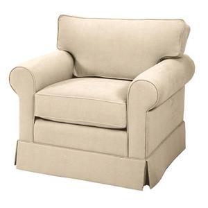 Skirted Loose Pillow Back Chair
