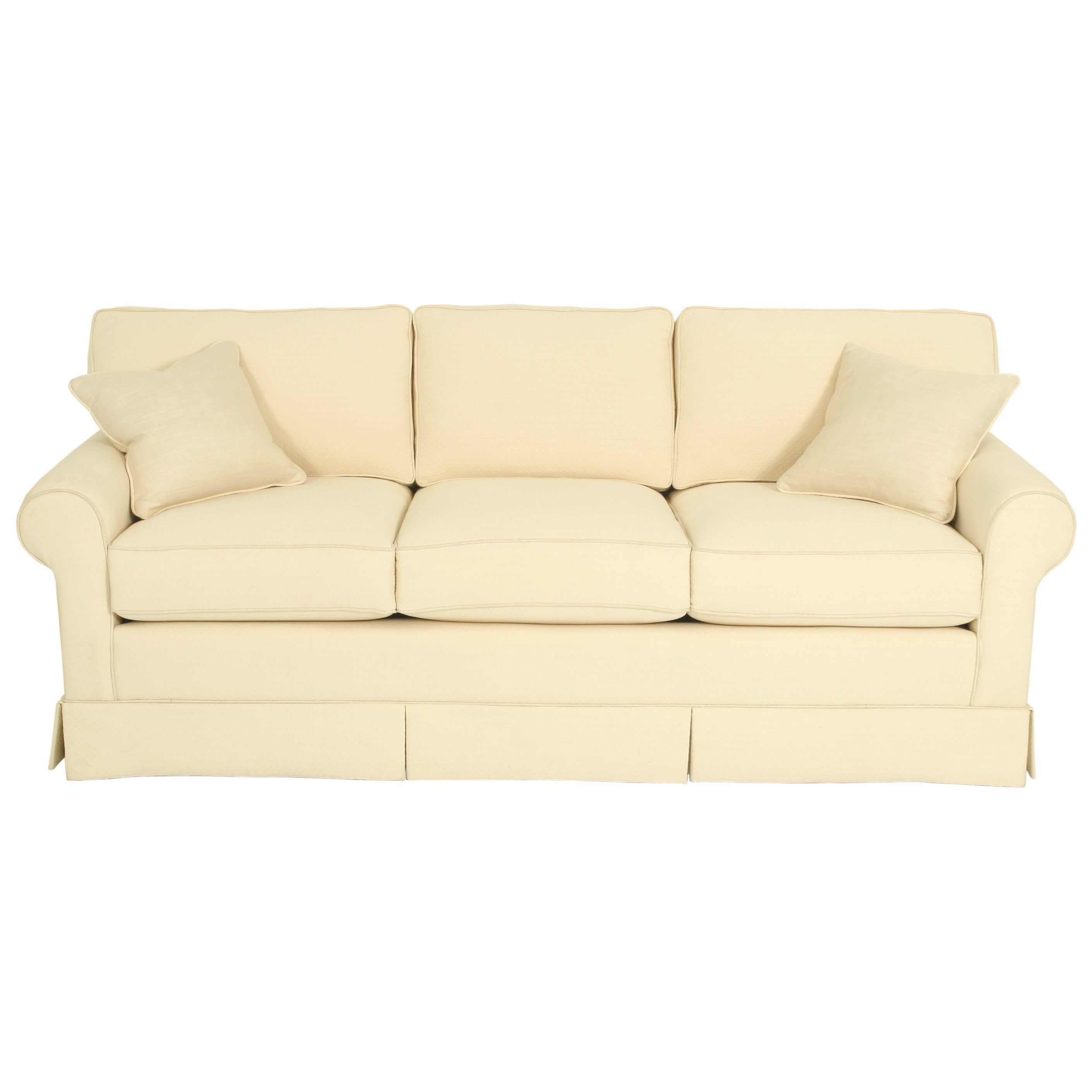Copley Square Loose Back Stationary Sofa by Norwalk at Saugerties Furniture Mart