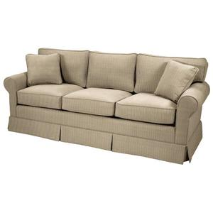 Skirted Queen Sleeper Sofa