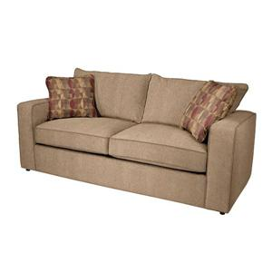 Norwalk Milford Casual Angled Sectional Sofa With Accent Pillows Lagniappe Home Store