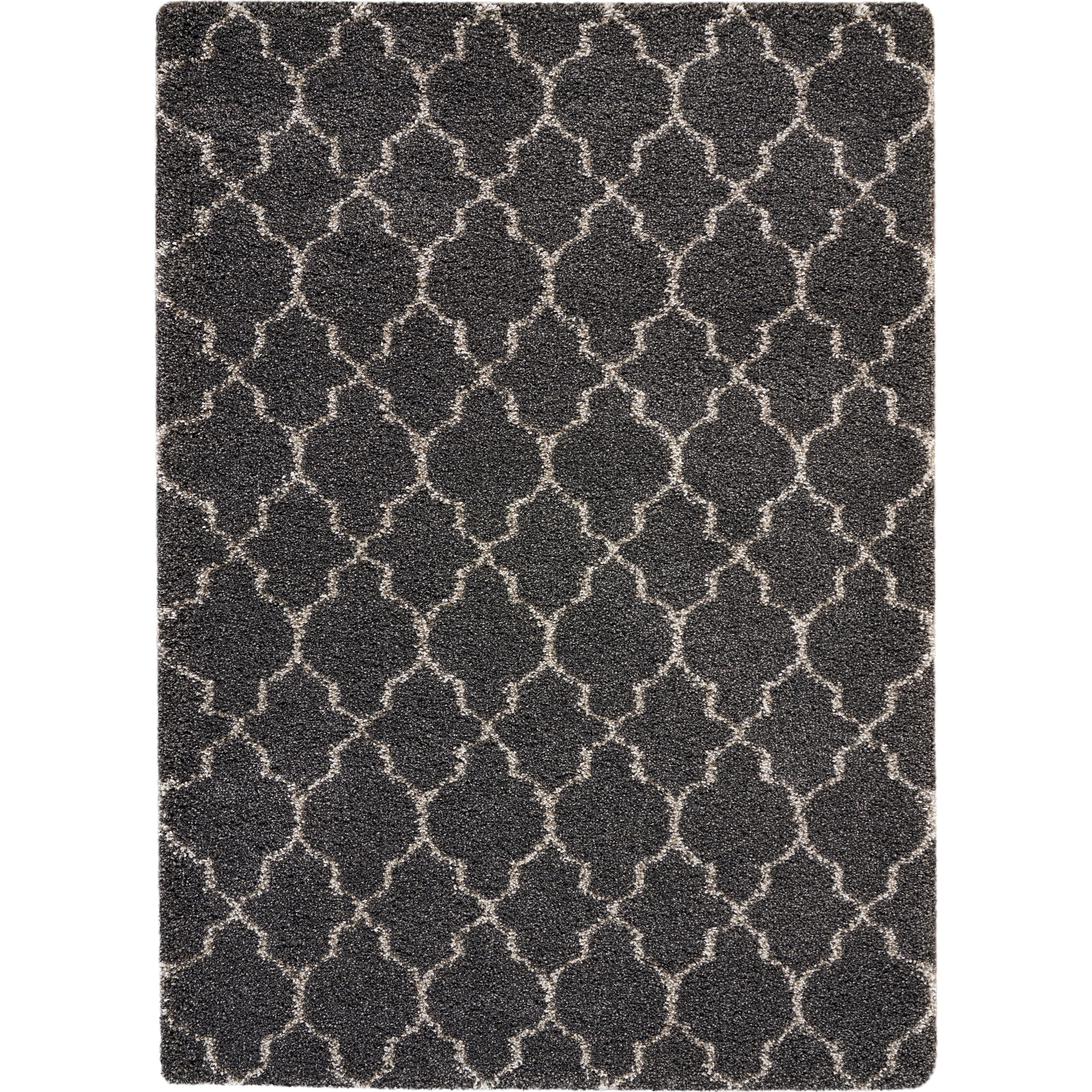 Amore Amore AMOR2 Black 4'x6' Area Rug by Nourison at Home Collections Furniture