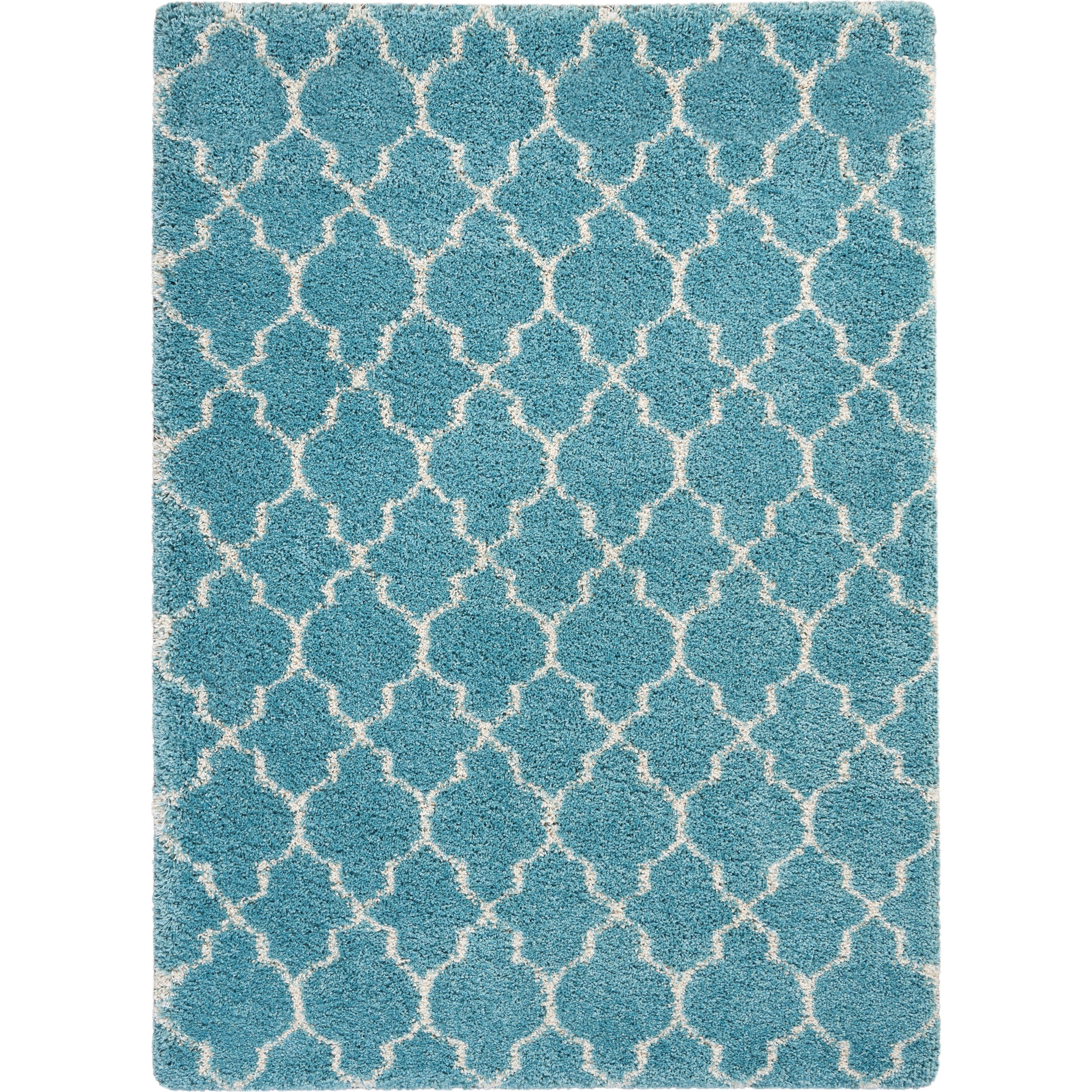 Amore Amore AMOR2 Blue 4'x6' Area Rug by Nourison at Home Collections Furniture
