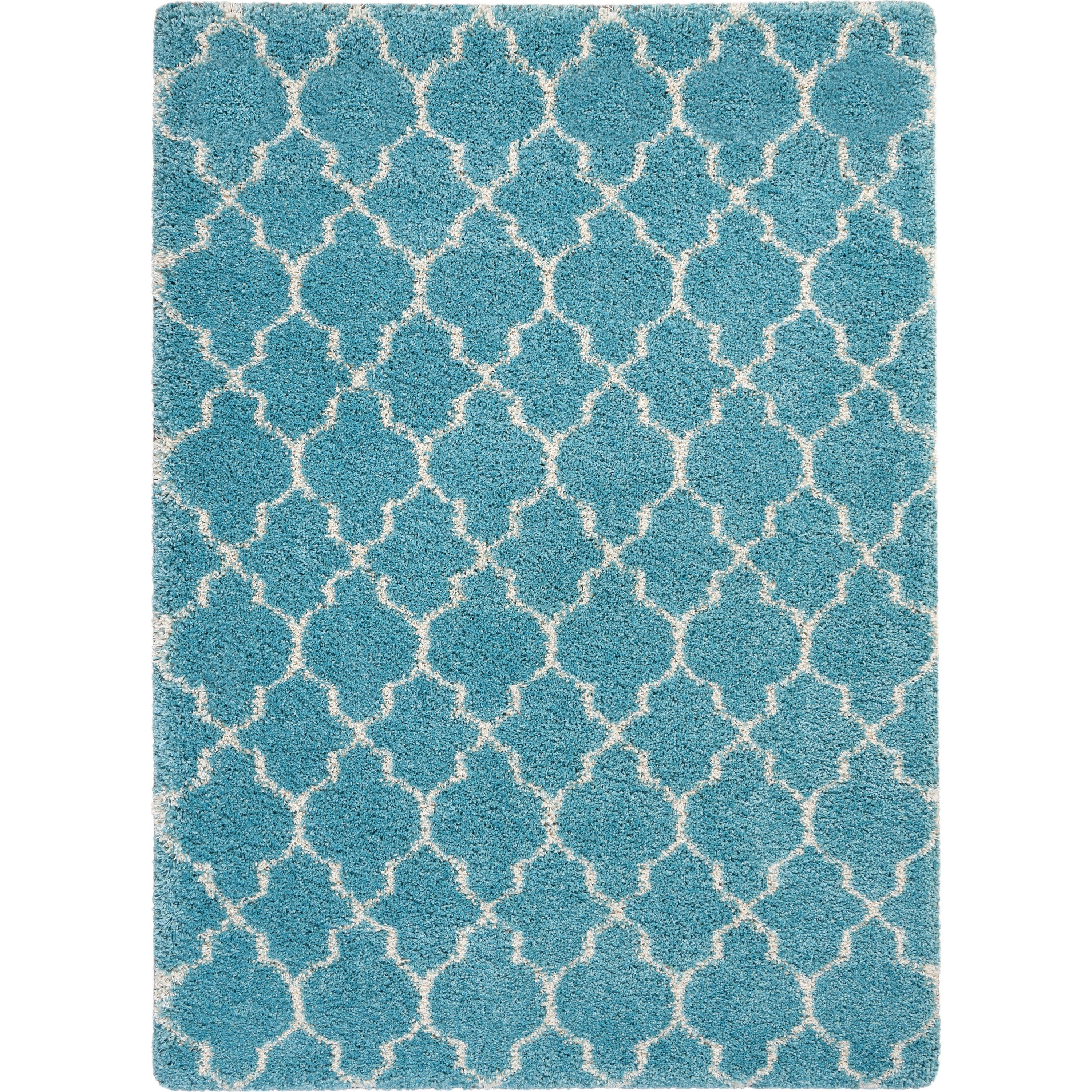 Amore Amore AMOR2 Blue 5'x8' Area Rug by Nourison at Home Collections Furniture