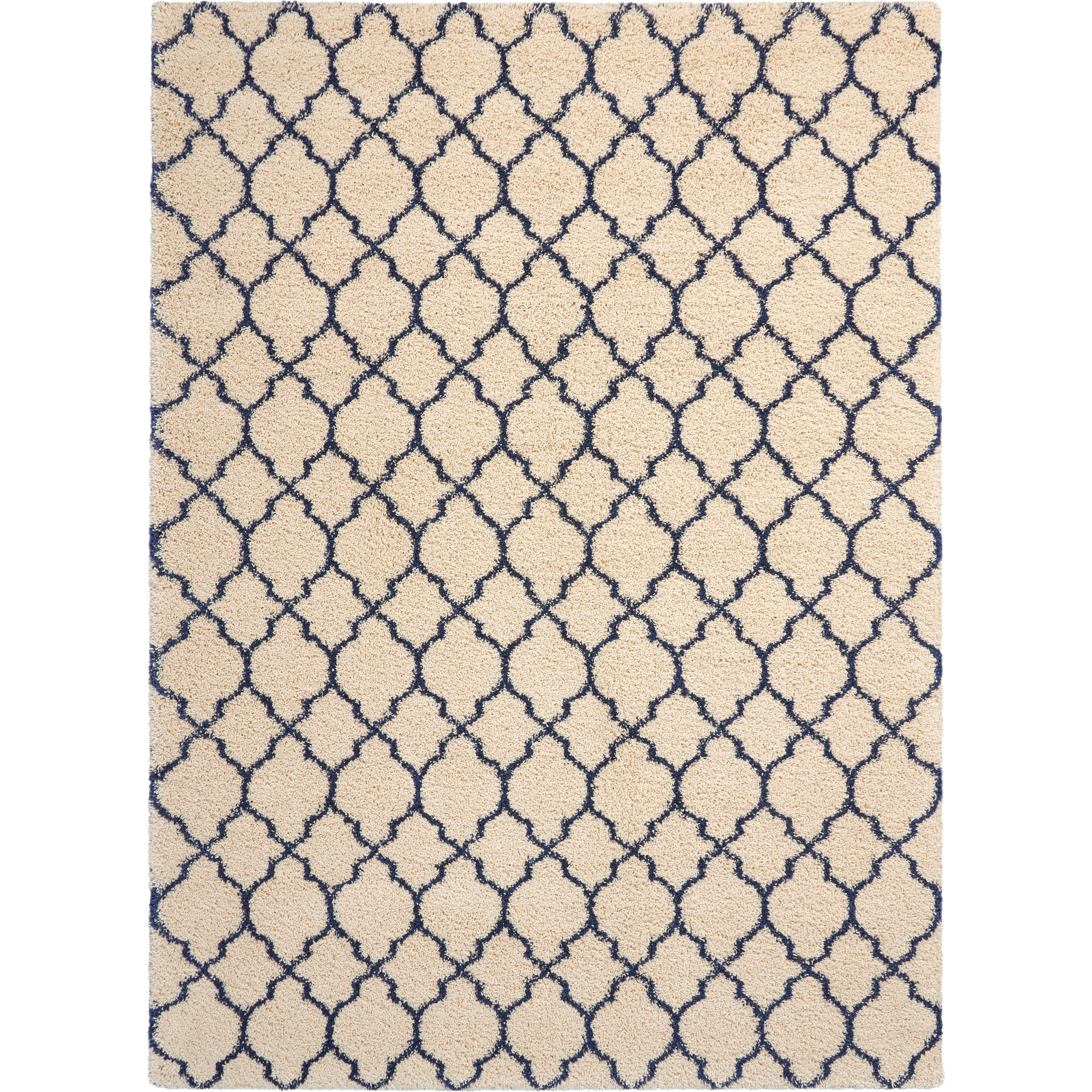Amore Amore AMOR2 Blue and Ivory 8'x11'   Rug by Nourison at Home Collections Furniture