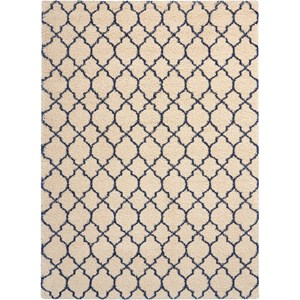 Amore AMOR2 Blue and Ivory 8'x11'   Rug