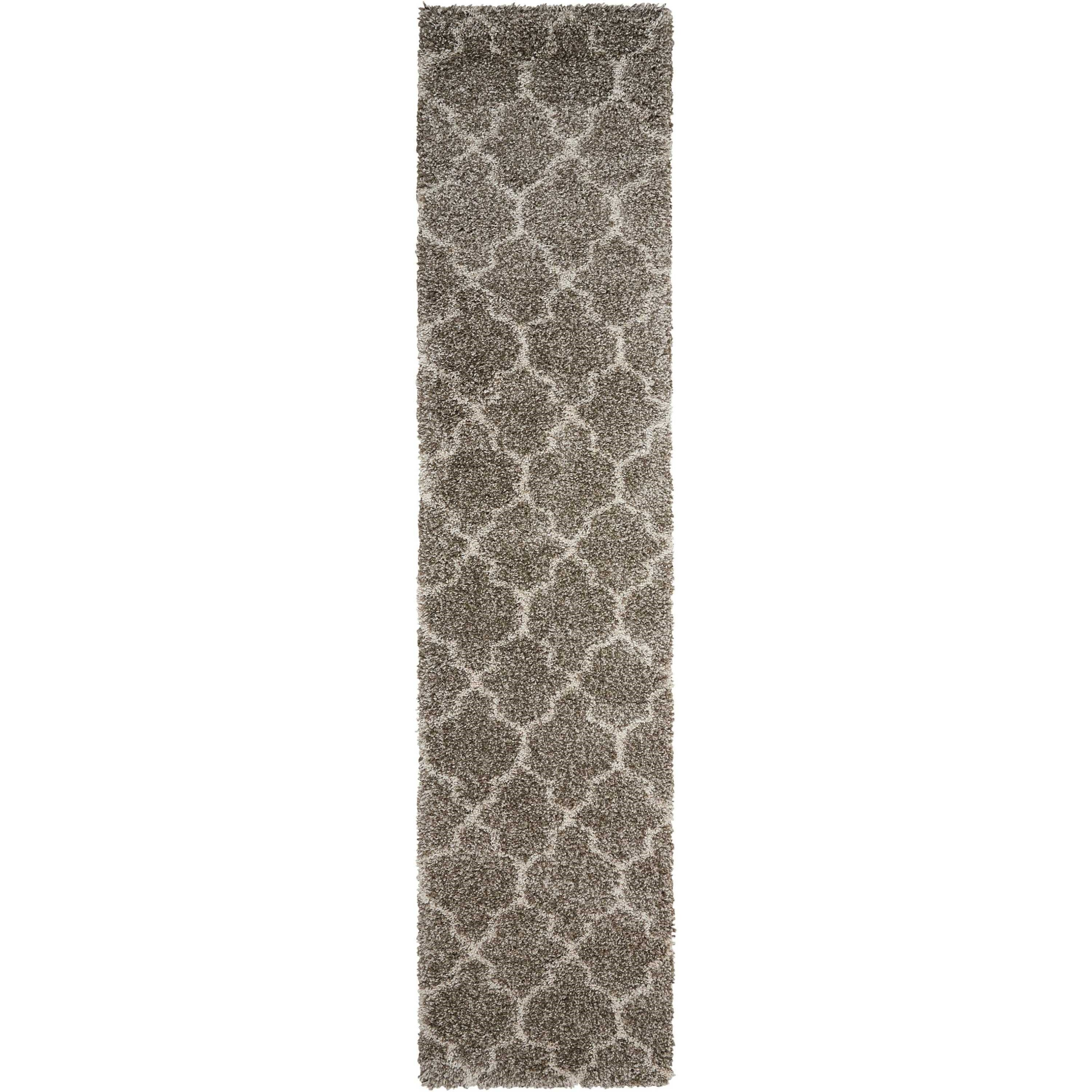 Amore Amore AMOR2 Beige 10' Runner  Hallway Rug by Nourison at Home Collections Furniture