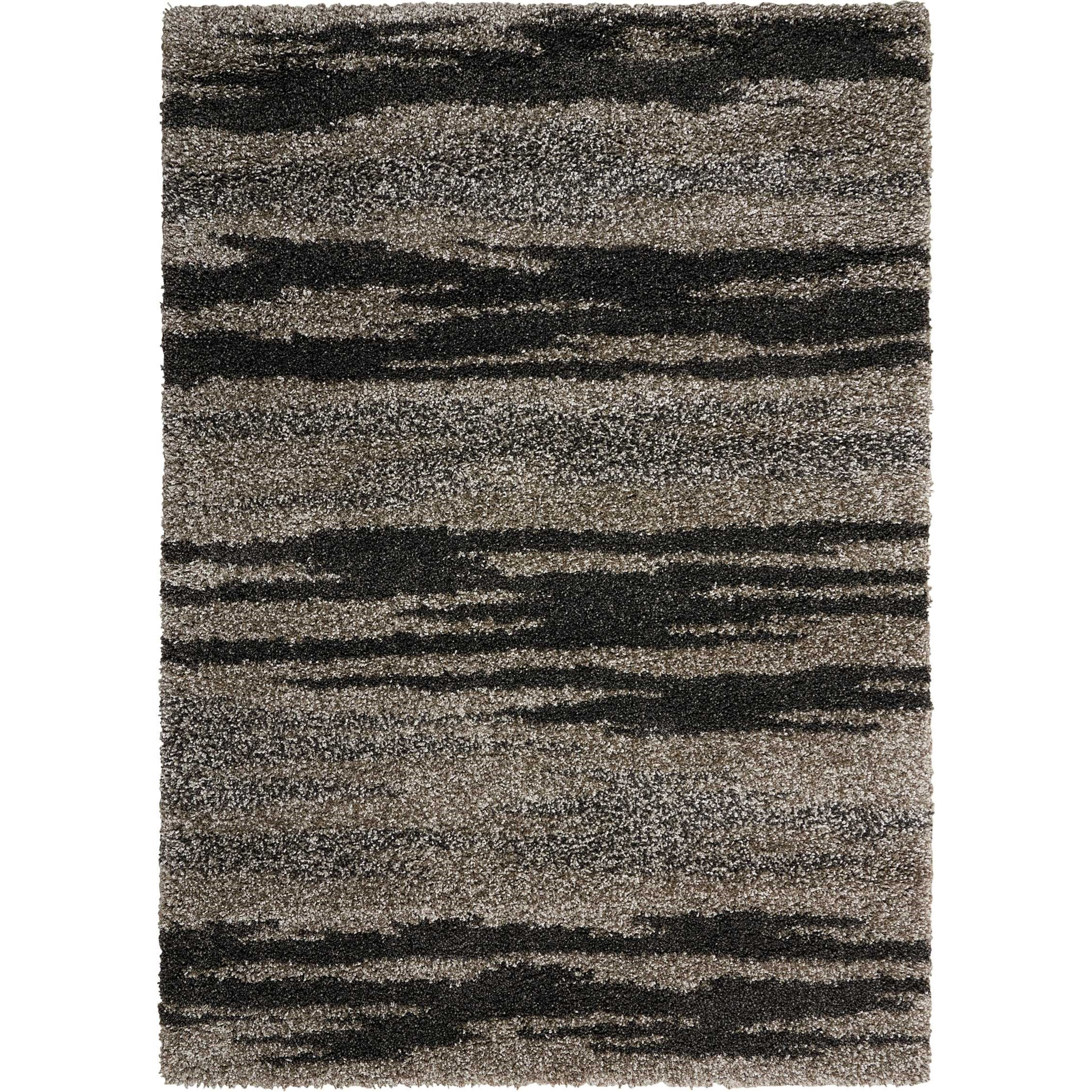 Amore Amore AMOR3 Grey 4'x6' Area Rug by Nourison at Home Collections Furniture