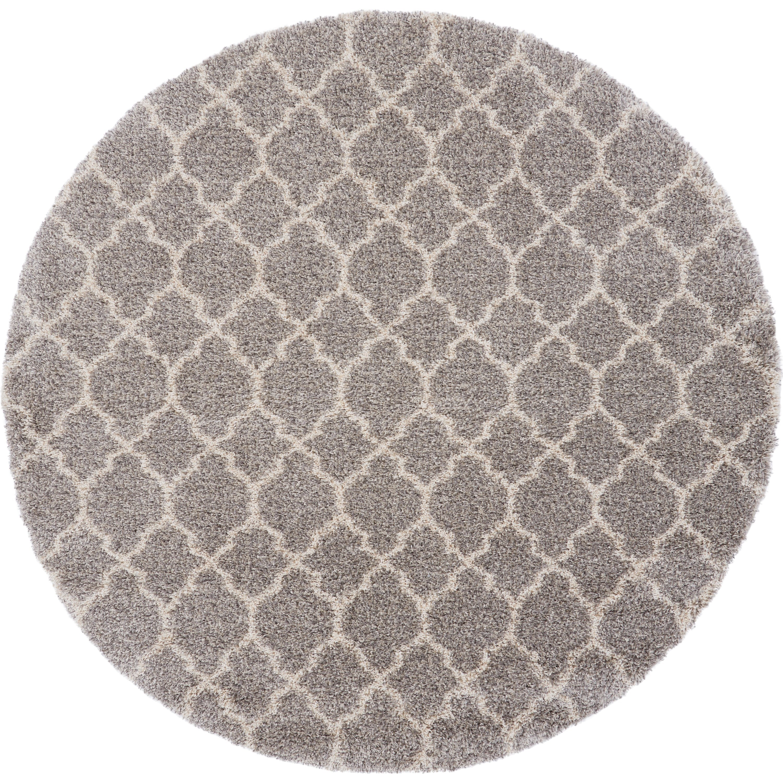 Amore 8' Round Rug by Nourison at Sprintz Furniture