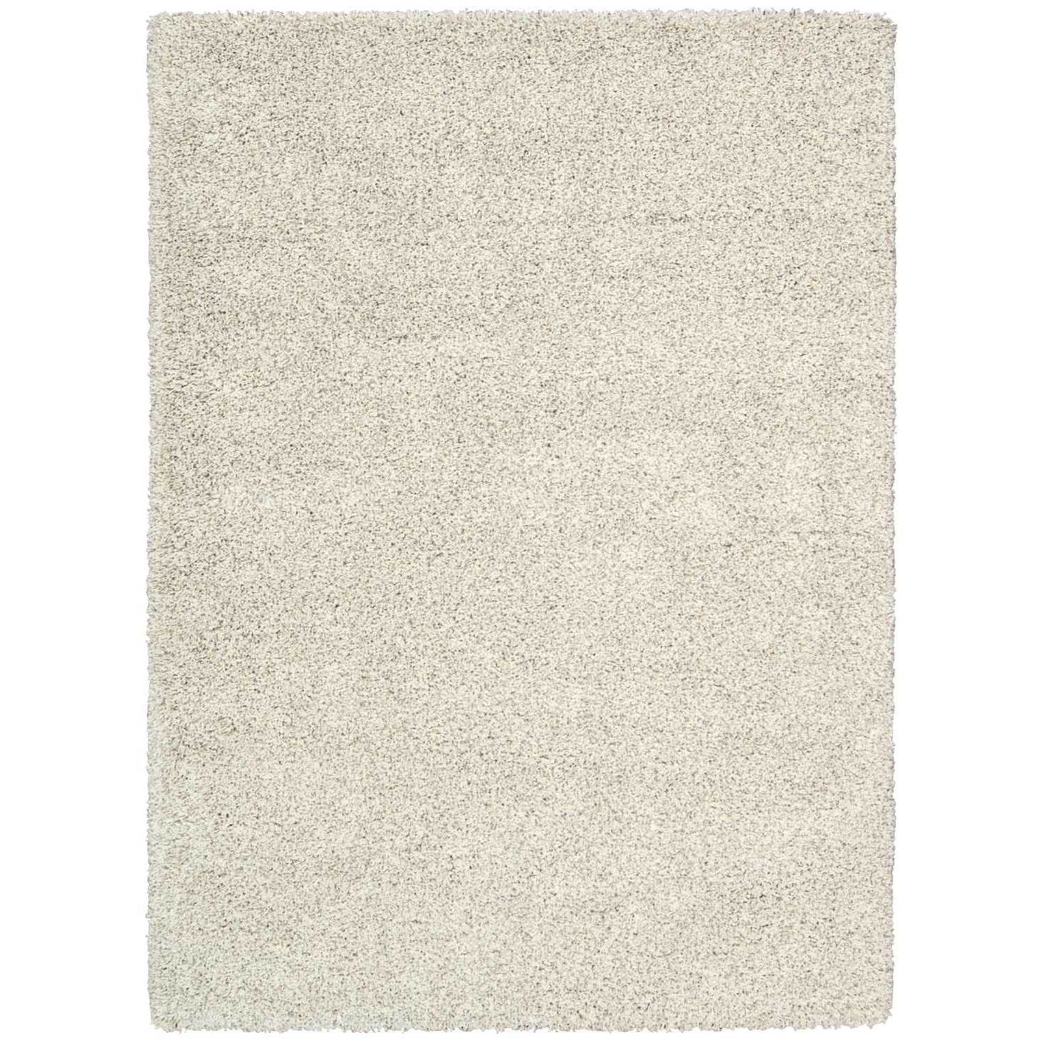 """Amore 5'3"""" x 7'5"""" Bone Rectangle Rug by Nourison at Home Collections Furniture"""