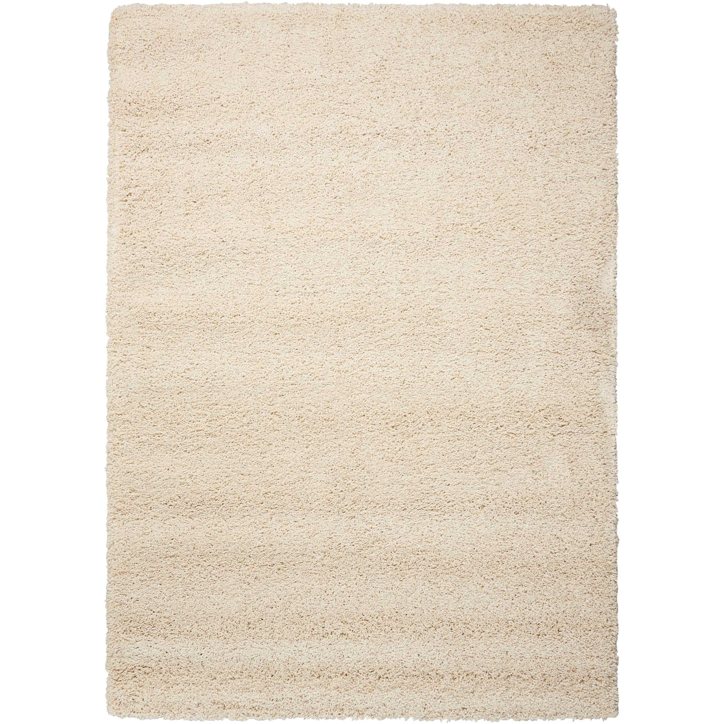 """Amore 5'3"""" x 7'5"""" Cream Rectangle Rug by Nourison at Home Collections Furniture"""