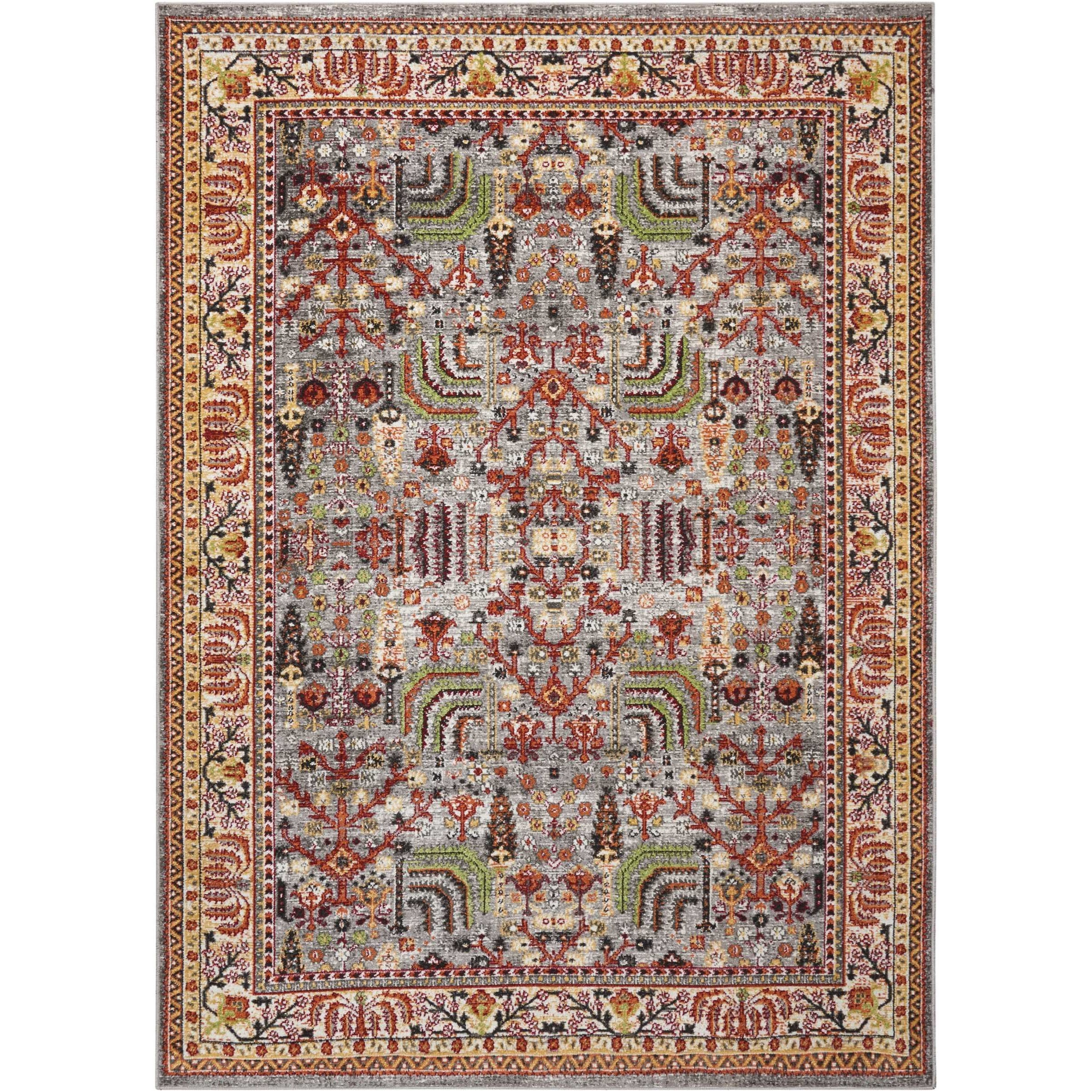 "Aria 5'3"" X 7'3"" Multicolor Rug by Nourison at Sprintz Furniture"