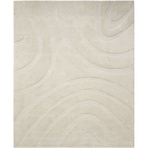 "8'2"" X 10' Cream Rectangle Rug"