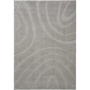 5' X 7' Silver Rectangle Rug