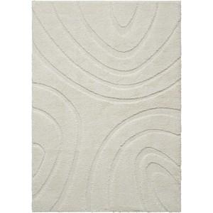 5' X 7' White Rectangle Rug