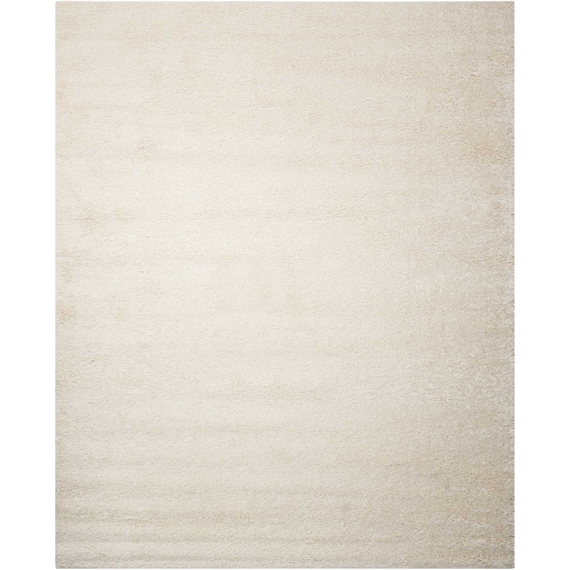 """Bonita 8'2"""" x 10' White Rectangle Rug by Nourison at Home Collections Furniture"""
