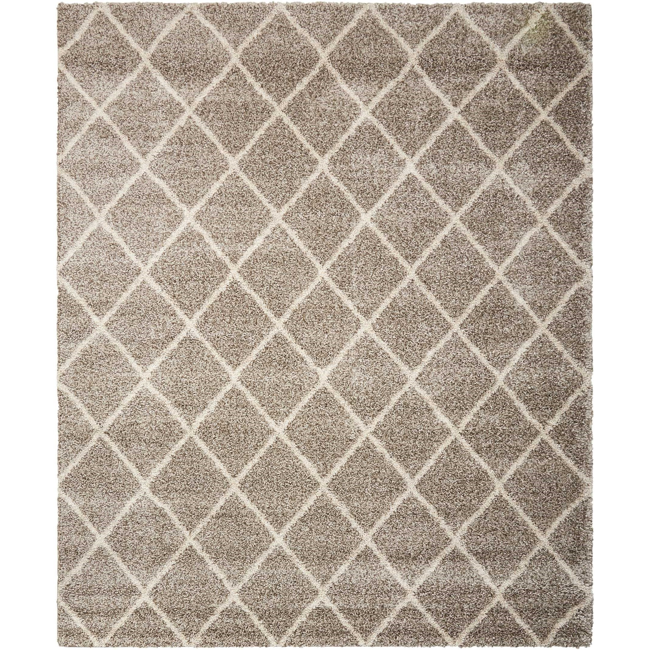 Brisbane 5' x 7' Stone Rectangle Rug by Nourison at Sprintz Furniture