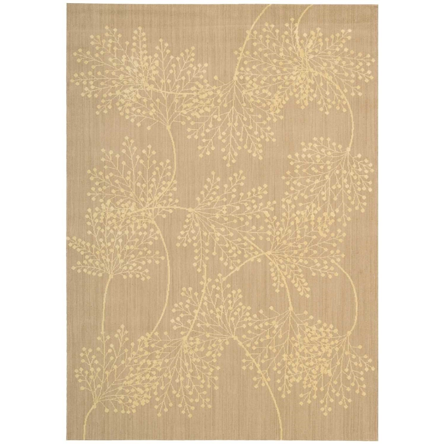 "Capri 5'3"" x 7'5"" Sand Rectangle Rug by Nourison at Sprintz Furniture"