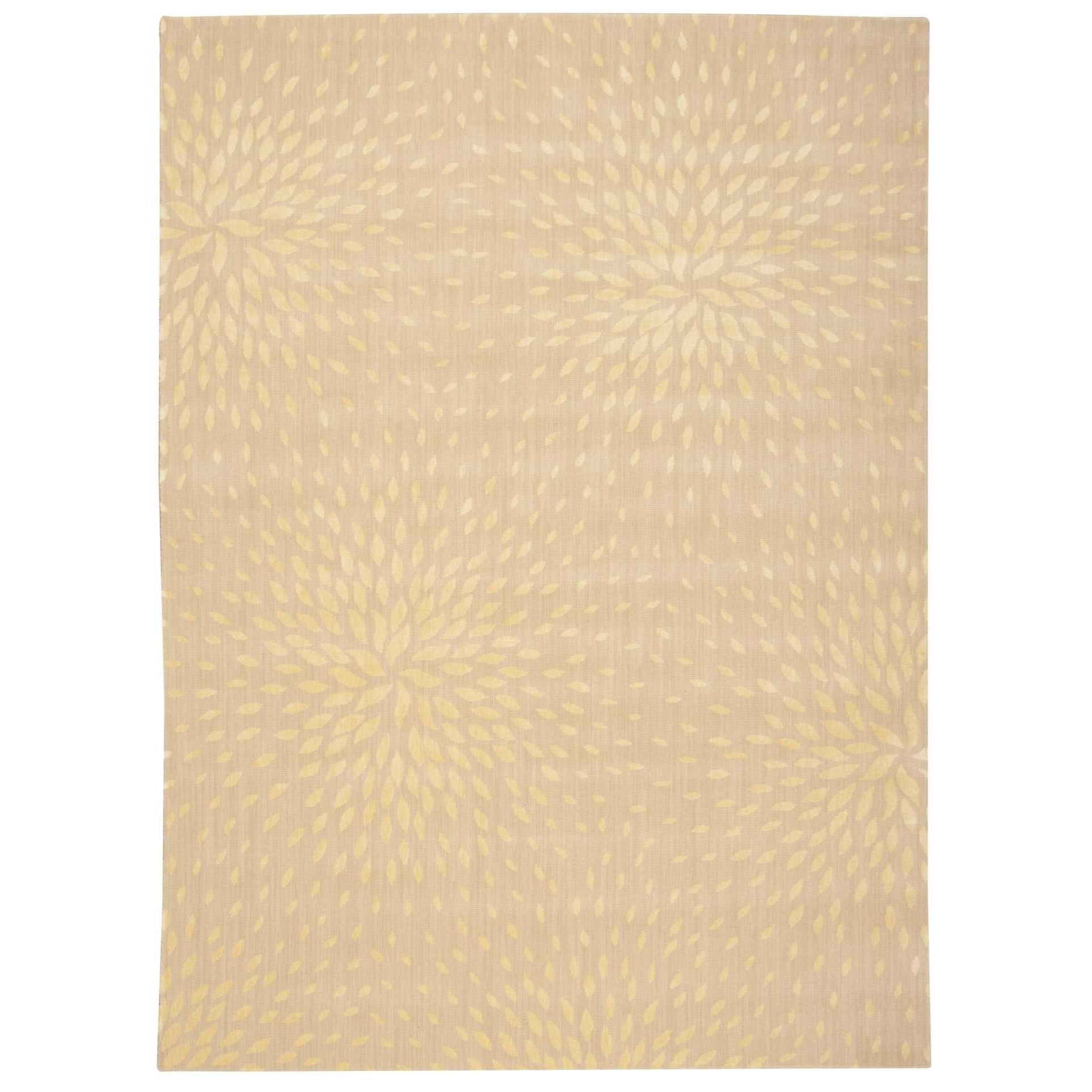"""Capri 7'9"""" x 10'10"""" Beige Rectangle Rug by Nourison at Home Collections Furniture"""