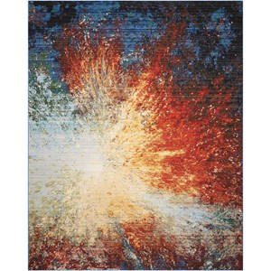 """5'6"""" X 8' Red Flare            Rug"""